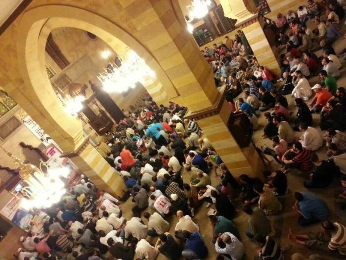 Rawda mosque, in Saida (Sidon) Lebanon. The lecture was titled: 'My Journey to Islam'