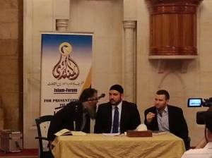 Omari Mosque in Beirut, where I presented the topic 'The Purpose Life'