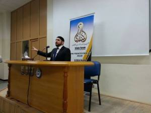 Lecture at the Lebanon International University (LIU), Bekaa valley, on 'Does Islam need reformation?'
