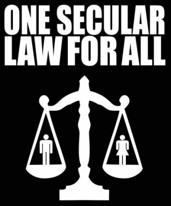 secularonelawforall