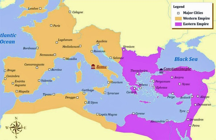 085-eastern-western-roman-empires-map