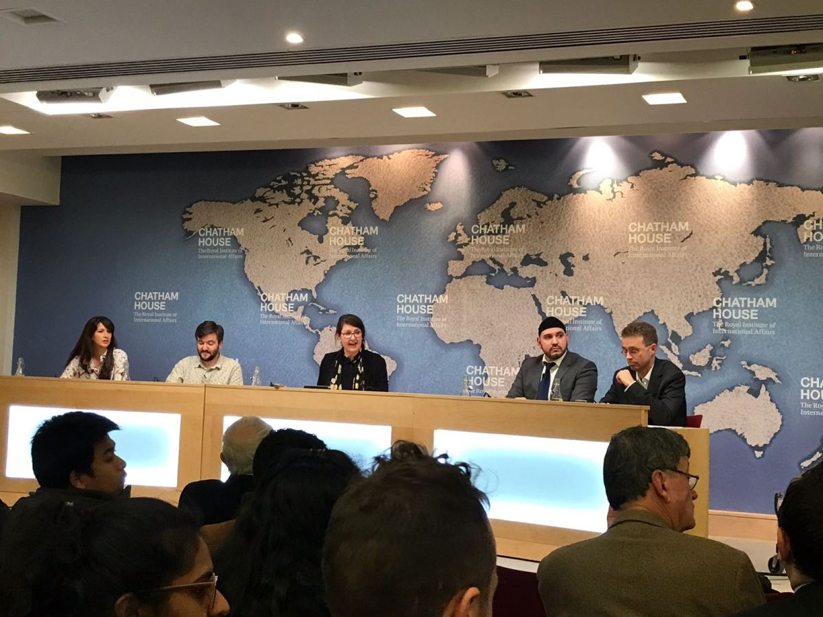 Alhamdulillah! Debate victory against Secularism at World's Top Think Tank (outside U.S.) - Chatham House (UK)